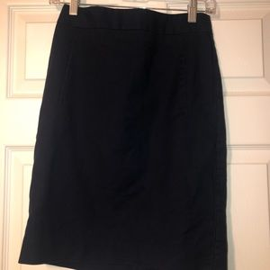 The Limited Pencil Skirt - Navy Blue